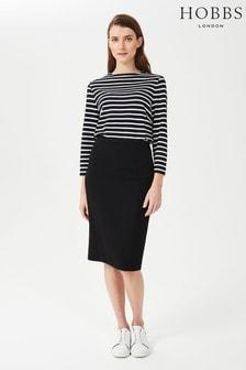 Hobbs Black Ophelia Skirt