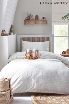 Laura Ashley Alphabet Organic Cotton Duvet Cover And Pillowcase Set