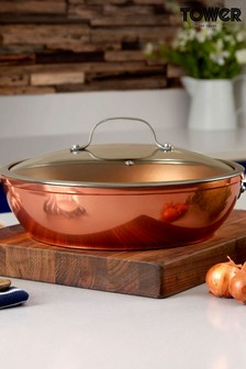 Tower Copper Forged Multi Pan