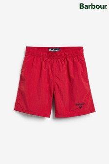 Barbour® Red Swim Shorts