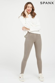 SPANX® Taupe Jeanish Leggings