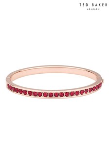 Ted Baker Metallic Clemara Hinge Crystal Bangle
