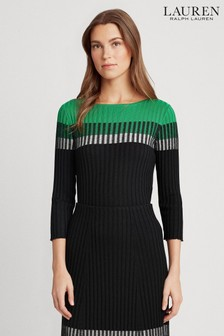 Lauren Ralph Lauren® Black Colourblock Knitted Co-ord Jumper