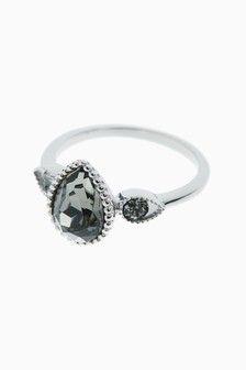 Ring With Swarovski® Crystals