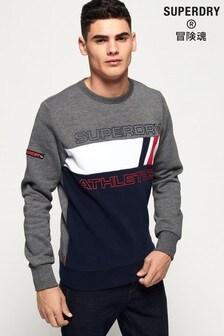 Superdry Trophy Tri Line Crew Sweatshirt