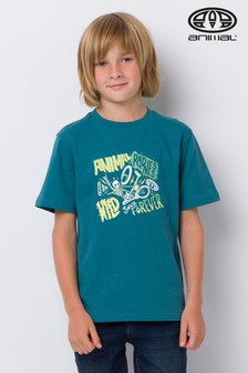 Animal Blue Flatty Graphic T-Shirt
