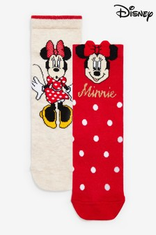 2 Pack Minnie Ankle Socks