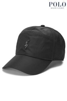 Polo Ralph Lauren Black Logo Commuter Cap