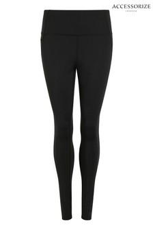 Accessorize Black Full Length Leggings