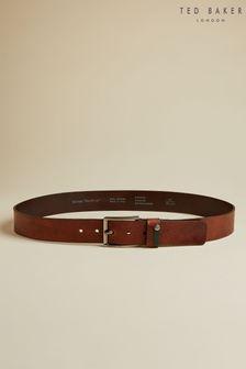 Ted Baker Keepsak Contrast Keeper Leather Belt