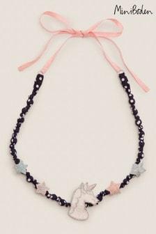 Boden Multi Fabric Necklace