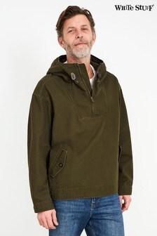 White Stuff Green Avoca Overhead Jacket