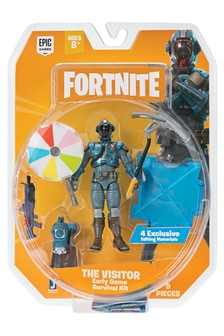 Fortnite Early Game Survival Kit Figure - The Visitor