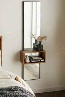 Shelf Floor Length Wall Mirror