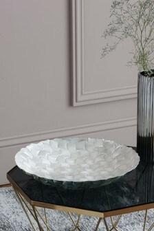 Decorative Glass Platter