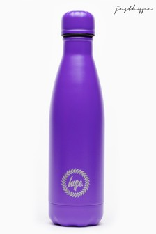 Hype. Purple Top Metal Reusable Bottle
