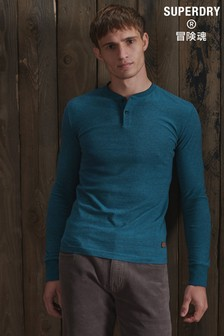 Superdry Long Sleeve Henley Top