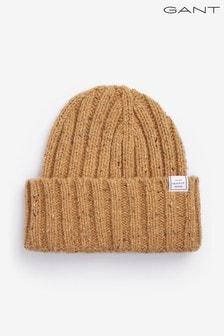 Damska czapka z dzianiny o nieregularnym splocie GANT