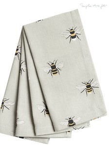 Set of 4 Sophie Allport Bees Napkins