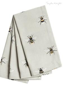 Set of 4 Sophie Allport Bees Napkins
