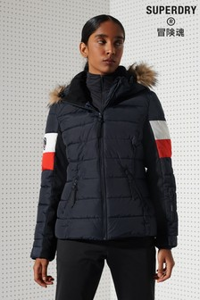 Superdry Alpine Fur Luxe Padded Jacket
