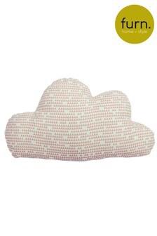 Printed Cloud Cushion by Furn