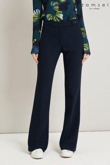 Damsel In A Dress Blue Osaki Trousers