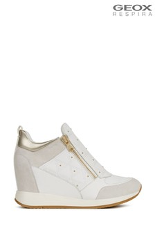 Geox Women's Nydame White Shoes