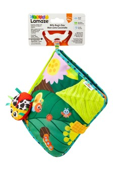 Lamaze Bitty Bug Soft Discovery Cloth Book