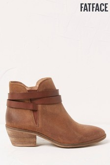 FatFace Emma Strappy Ankle Boots
