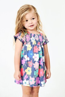 Shirred Dress (3mths-7yrs)