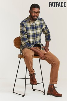 FatFace Brown Straight Utility Trousers