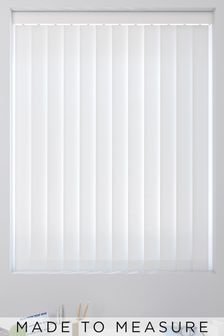 Waterproof White Made To Measure Vertical Blind