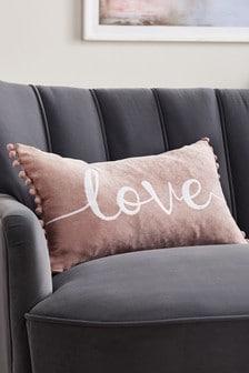 Love Word Cushion