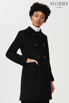 Hobbs Black Nuala Coat