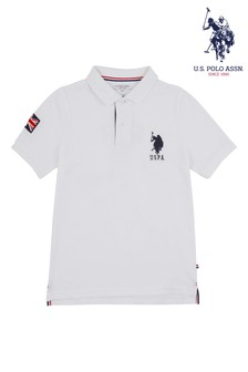U.S. Polo Assn. White GBR Player Shirt