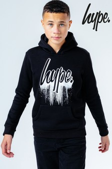Hype. Grey Drips Tape Hoody