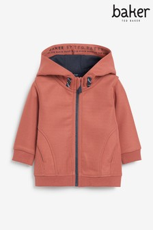 Baker by Ted Baker Bonded Hooded Sweat Top
