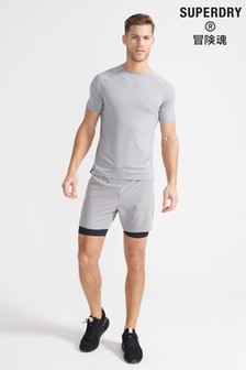 Superdry Sport Double Layer Shorts