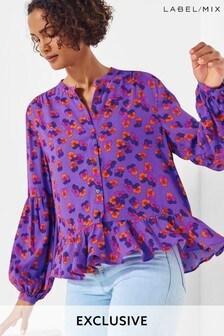 Next/Mix Floral Print Blouse