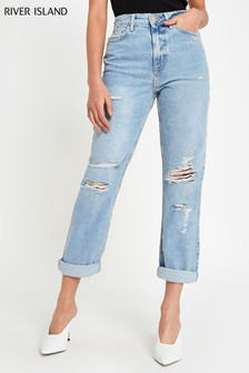 a14e4c444b7 River Island Jeans | Womens Distressed & Ripped Jeans | Next UK