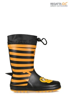 Regatta Yellow Mudplay Junior Wellies