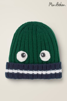 Boden Green Monster Hat