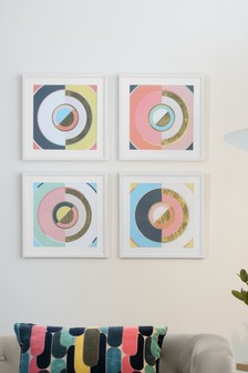 Set of 4 Framed Art