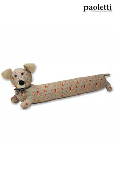 Floral Dog Draught Excluder by Riva Paoletti