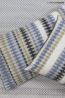 Linen House Blue Northbrook Pillowcase