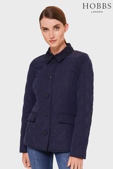 Hobbs Blue Lianne Coat