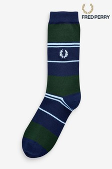 Chaussettes rayées Fred Perry