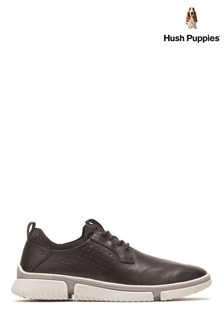 Hush Puppies Black Bennet Oxford Shoes