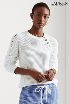 Lauren Ralph Lauren® Cotton Cable Jerlita Jumper